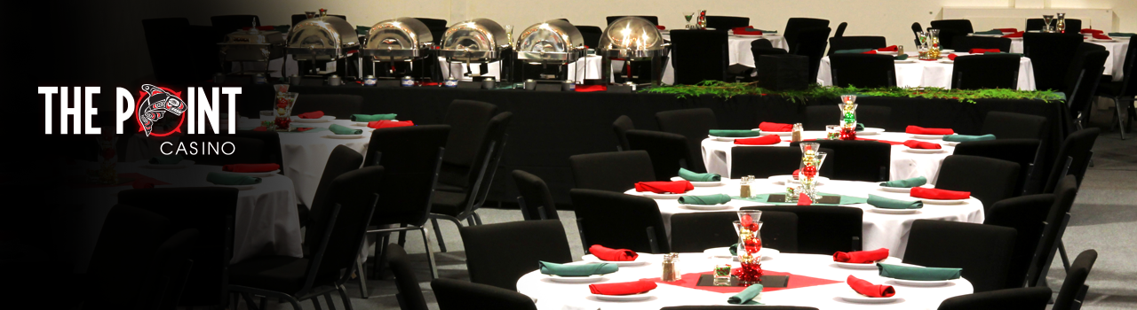 Catering and Banquets from The Point Casino